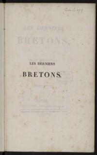 Les derniers bretons / Par Emile Souvestre