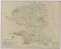 Carte préhistorique du Finistère / Bernard Le Pontois