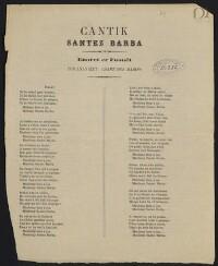 Cantik santez Barba enoret er Faouët : Ton anavezet : Chant des marins / Guillermic |